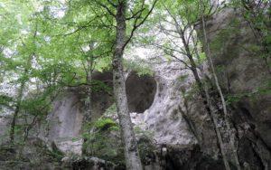 il teschio roccioso