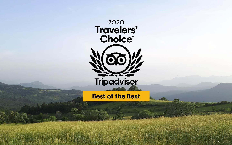 Masseria Monte Pizzi vince il Travellers Choice 2020 di Tripadvisor